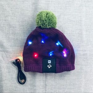 LED light up beanie stocking cap
